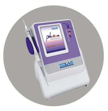 Diode dental laser
