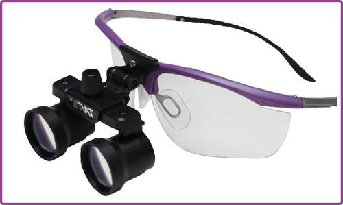 Dual-Magnification Loupes